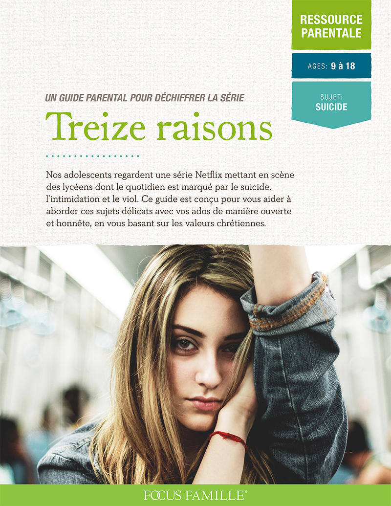 13 reasons cover FRENCH